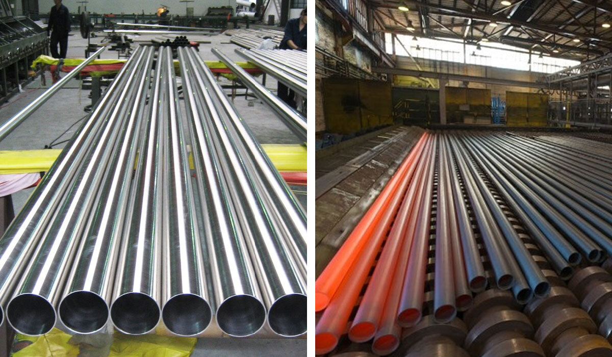 Stainless Steel 304 /304L / 304H Seamless Pipes